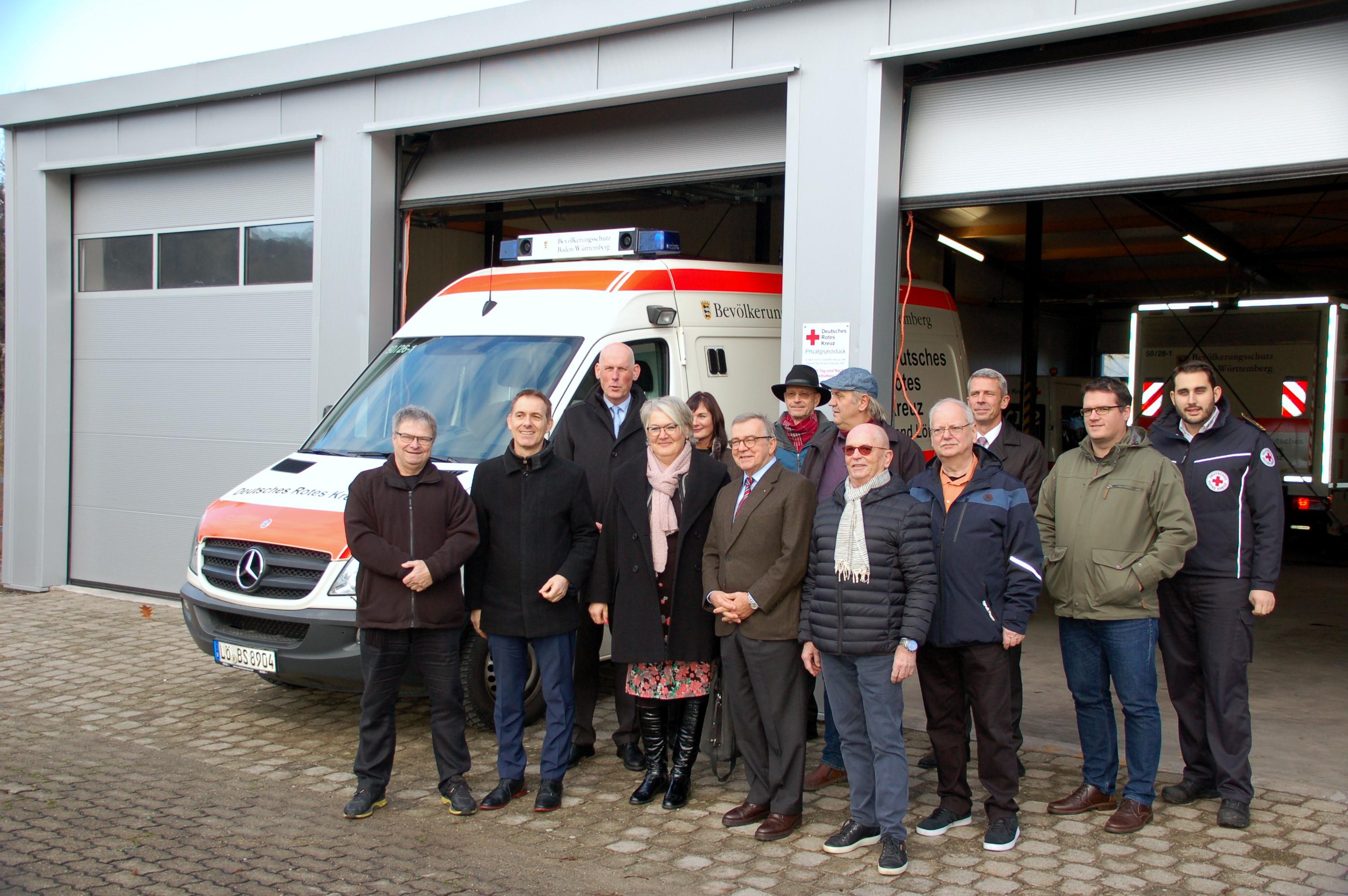 edfde61321e1f8 Neue Fahrzeughalle für Einsatzfahrzeuge